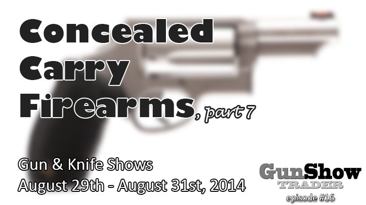 Large Concealed Carry Revolvers